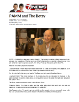 2015-05-21 7 News (PAMM and The Betsy)