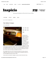 2015.12.01 Inspicio – The Writer's Room