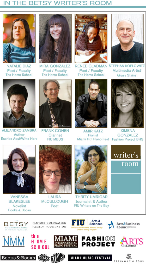 Jan Writers in Residence